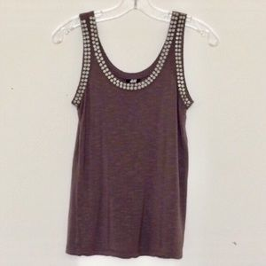 H&M embellished tank top